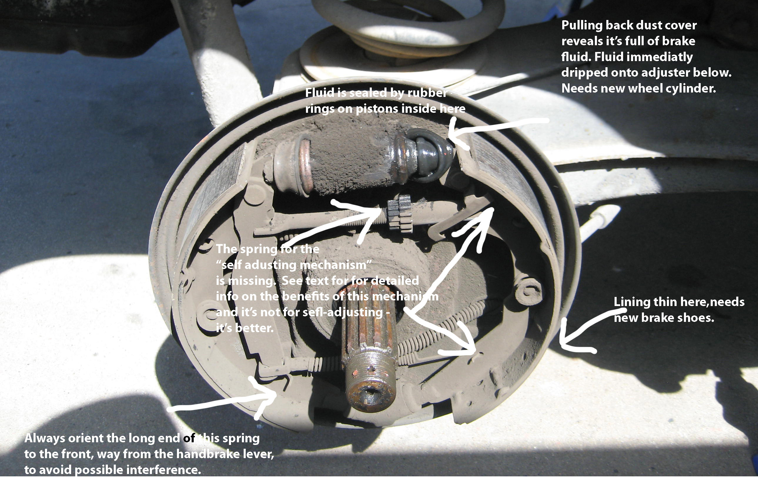 Brakes Front And Rear All Models Robert Hays German